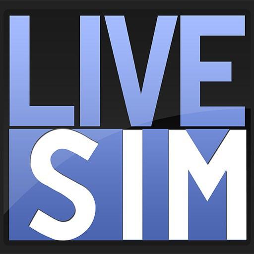 Live sim logo